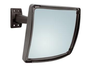 Telecamera nascosta dietro uno specchio